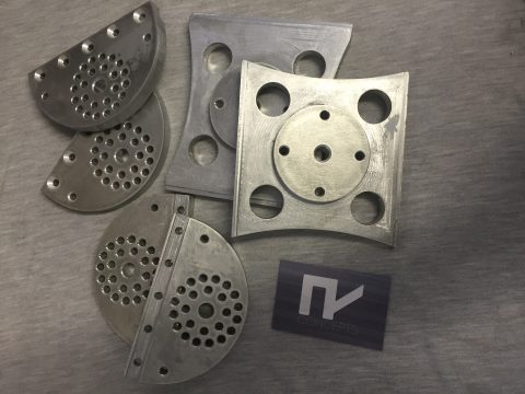 Photo of CNC cut multi angle camera plate