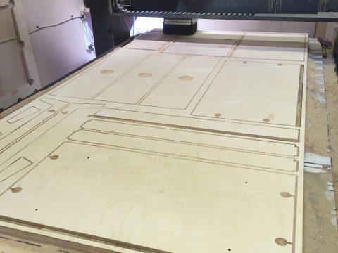 Photo of CNC cut furniture