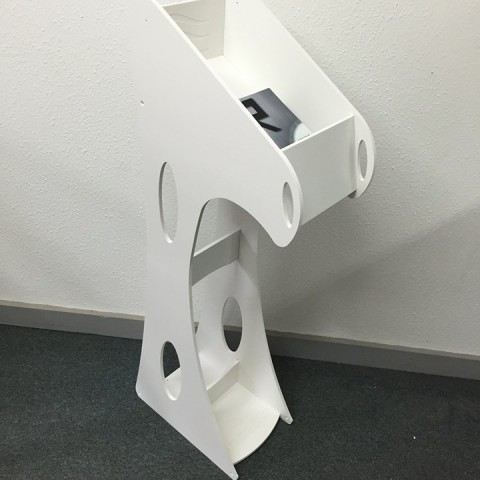 designed-and-cnc-cut-expo-leaflet-holder-showroom-stand
