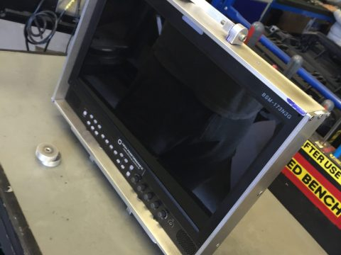Photo of aluminium LCD screen protector