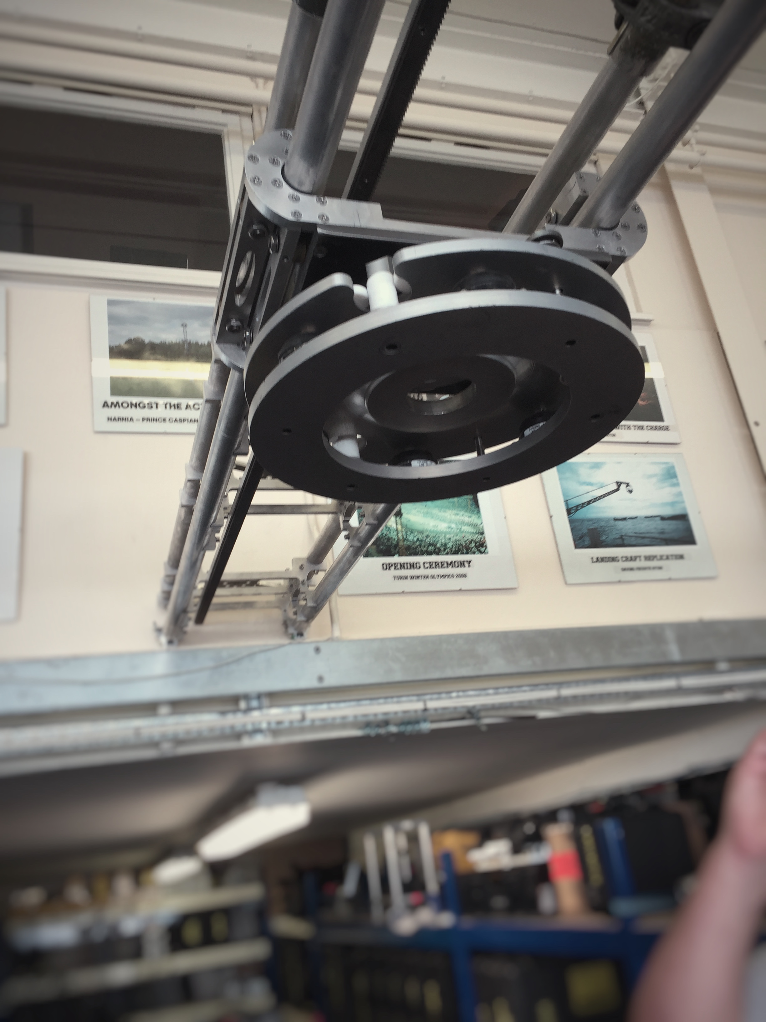 Photo of motorised camera rail
