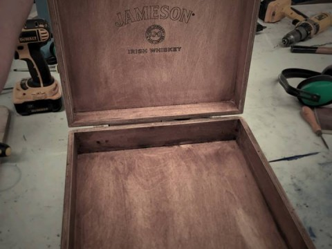 Photo of Jameson Wooden Box